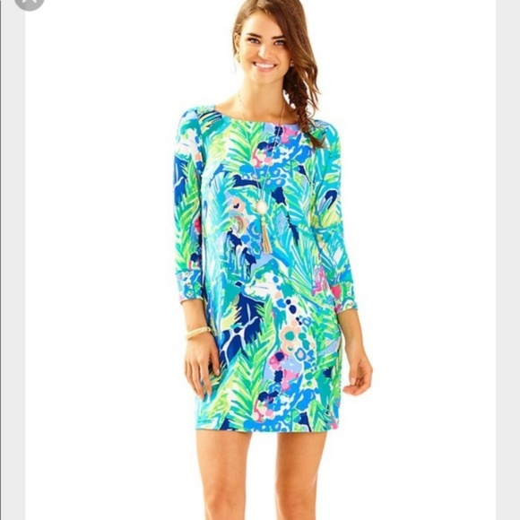 bd87f172cc8b81 Lilly Pulitzer Dresses & Skirts - Lilly Pulitzer Sophie Dress Purrfect  Multi XS